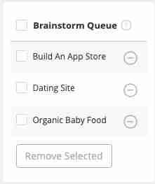 BrainstormQue