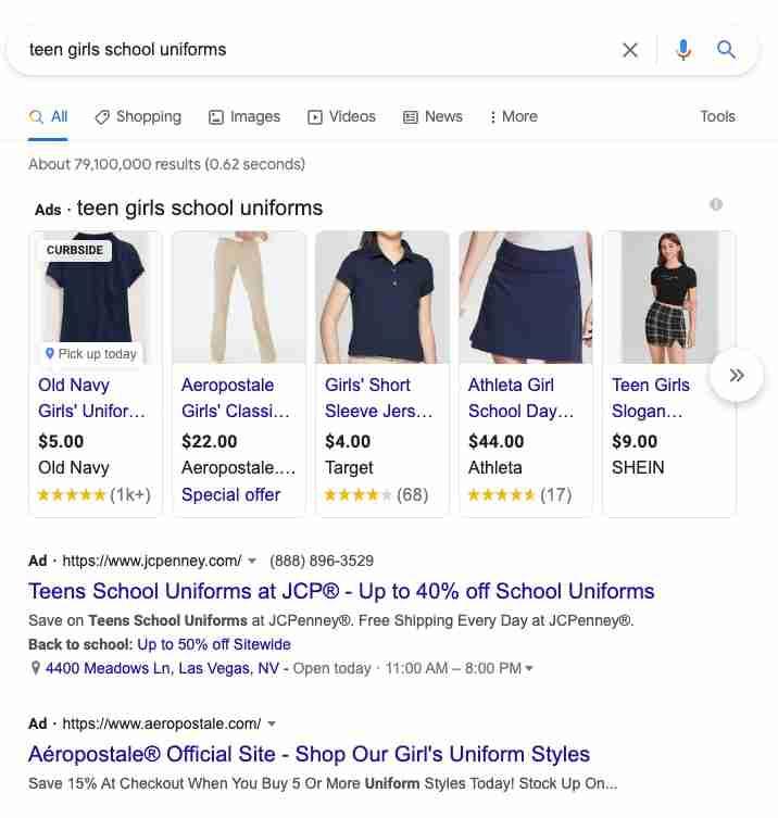 Jaaxy Google Search